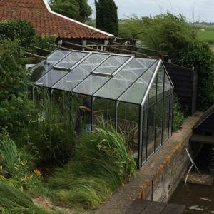 Goedkope hobbykas, kas, lichtstraat, serre, veranda, windscherm, tuinkamer, broeikassen, kopen, Noord Holland